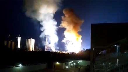 Explosión en estación eléctrica deja sin luz a gran parte de Maracaibo