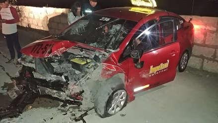 Dos taxistas fallecieron en accidente de tránsito en Arequipa