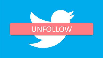 """""""A quién dejar de seguir"""", un raro movimiento de Twitter"""