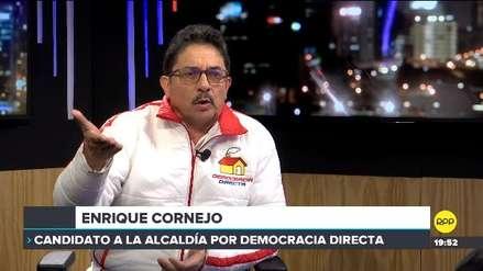 ¿Y cómo es él?: Las propuestas de Enrique Cornejo a la alcaldía de Lima