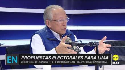 """Humberto Lay pide a los electores conocer las propuestas """"y no basarse en declaraciones populistas"""""""