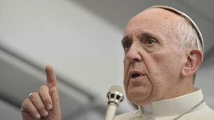 Papa Francisco pidió a políticos que sean responsables ante desafíos como la inmigración