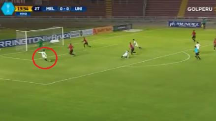 El gol de Javier Nuñez que sembró la polémica en el Melgar vs. Universitario