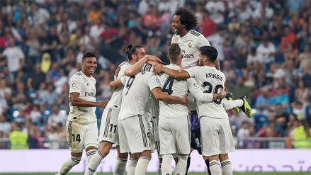 Real Madrid goleó al Leganés y continúa en la cima de la Liga de España