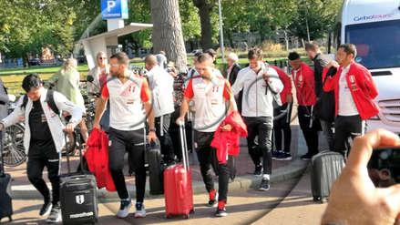 Selección Peruana llegó a Ámsterdam para enfrentar a Holanda