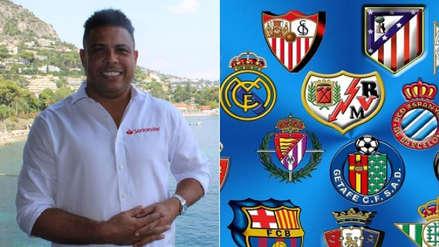 Ronaldo Nazario llegó a un acuerdo para comprar un club de la Liga de España