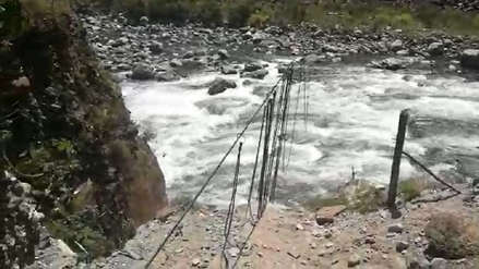Un ciclista desapareció tras caer al río Vilcanota en el Cusco