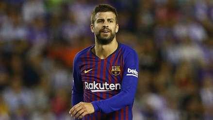 Gerard Piqué fue denunciado por la Policía de Barcelona
