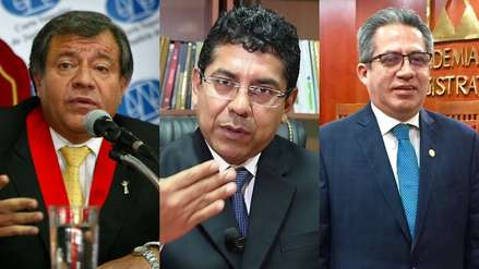 Jueces supremos negaron ser parte de 'Los Cuellos Blancos del Puerto'