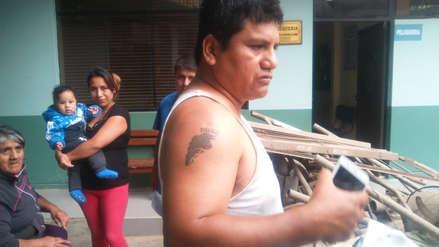 Una mujer arrojó petróleo e intentó quemar a su pareja en Chiclayo