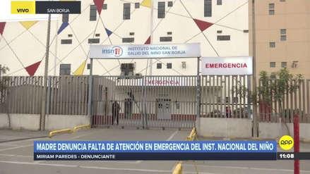 Una madre denunció falta de atención en el Hospital del Niño