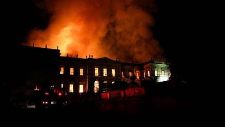 Michel Temer tras incendio de Museo: