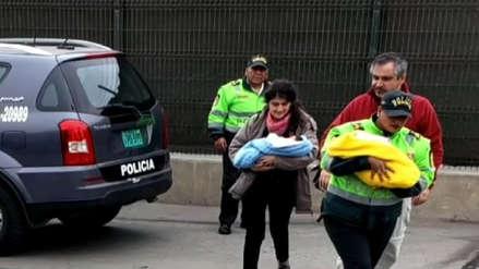 Poder Judicial dictó 12 meses de prisión preventiva para pareja que intentó salir del Perú con bebés