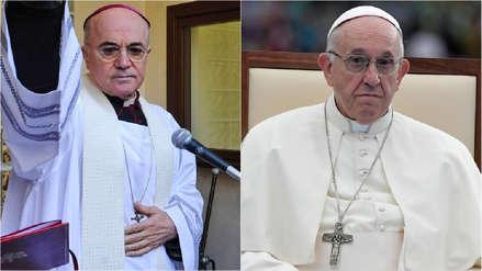 Ex alto funcionario del Vaticano volvió a acusar al papa Francisco
