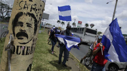 Tiroteo en manifestación contra Ortega dejó un herido en Nicaragua