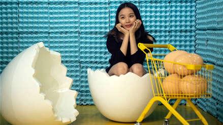 """""""La casa del huevo"""": el insólito homenaje al alimento en Shanghái"""