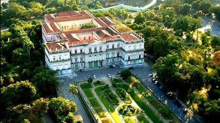 Así era el Museo Nacional de Río de Janeiro, devorado por las llamas