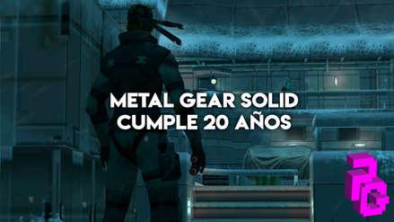 Metal Gear Solid cumple 20 años