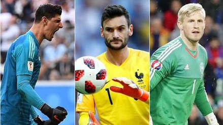 Courtois, Lloris y Schmeichel, finalistas a mejor portero en los The Best