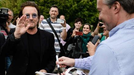Bono, de la banda U2, asegura que recuperó la voz y continuará con gira europea