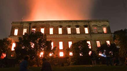 Brasil anuncia reconstrucción de Museo Nacional tras incendio que lo destruyó
