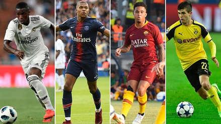 Kylian Mbappé y diez candidatos para quedarse con el premio Golden Boy