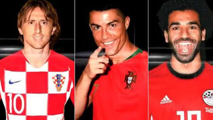 Cristiano Ronaldo, Modric y Salah, finalistas del premio The Best a mejor jugador