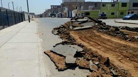 Chiclayo: Vecinos se quejan por cambio de asfalto pese a que pista está en buen estado