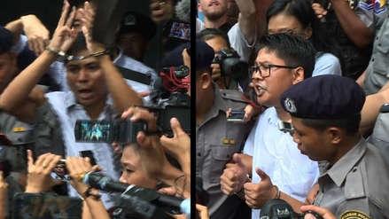 Dos periodistas de Reuters son condenados a siete años de prisión en Birmania