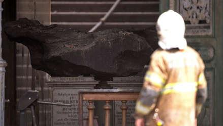 Río de Janeiro: El meteorito que quedó intacto tras el incendio en el Museo Nacional