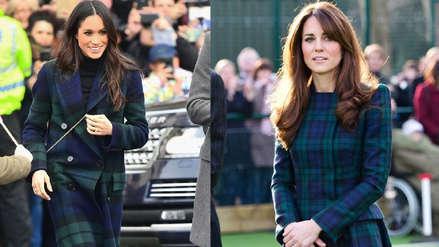 El duelo de moda que Kate Middleton le ganó a Meghan Markle [FOTOS]