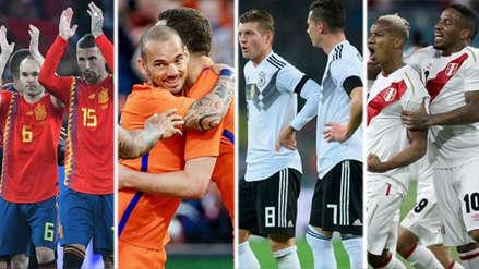 Los mejores partidos internacionales en el mes de septiembre