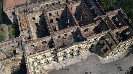 Así quedó el Museo Nacional de Río de Janeiro tras el devastador incendio