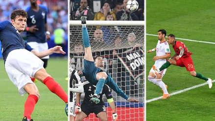 Los candidatos para ganar el Premio Puskas al mejor gol de FIFA
