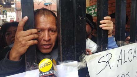 Lambayeque: comerciantes se atrincheran en mercado pidiendo postergación de obra