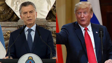 Macri conversó con Trump por teléfono sobre la situación económica de Argentina