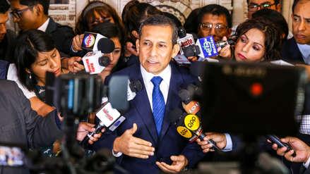 Humala dice que pruebas de Odebrecht son