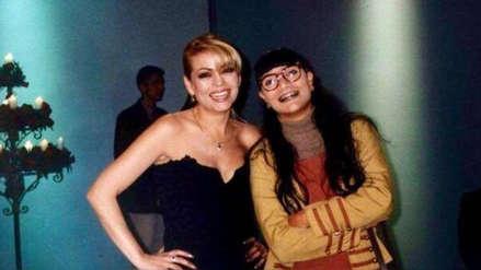 Gisela Valcárcel recordó su participación en la telenovela