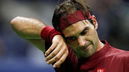 US Open: Federer fue eliminado en octavos de final por el número 55 del mundo