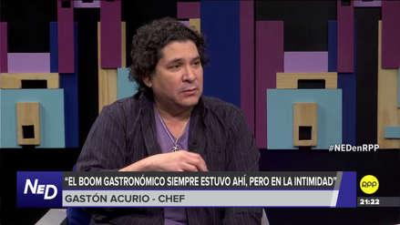 """Gastón Acurio: """"El boom gastronómico siempre estuvo ahí, pero era íntimo"""""""