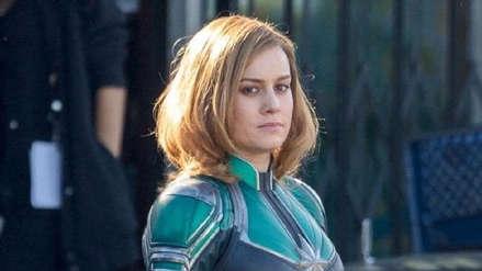 """Capitán Marvel"": Brie Larson anuncia fecha del primer tráiler"