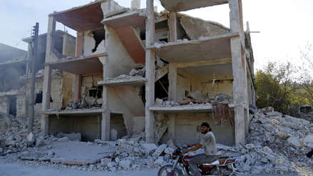 Así quedó la provincia siria de Idlib tras el bombardeo de Rusia al último bastión de rebeldes