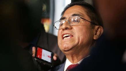 César Hinostroza negó haber dicho que la 'señora K' sea Miguel Torres