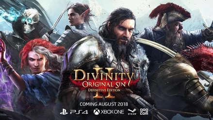 Divinity Original Sin 2 Definitive Edition llega a PlayStation 4 y Xbox One
