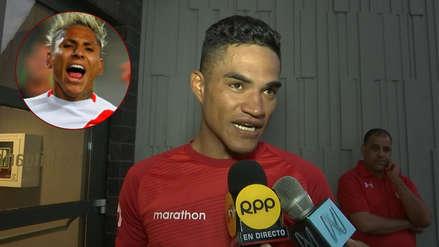 Anderson Santamaría habló sobre la jugada que provocó la lesión de Raúl Ruidíaz