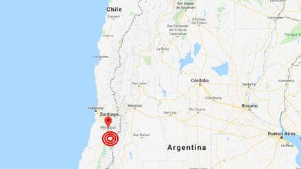 Sismo de magnitud 5.1 se registró en la zona central de Chile