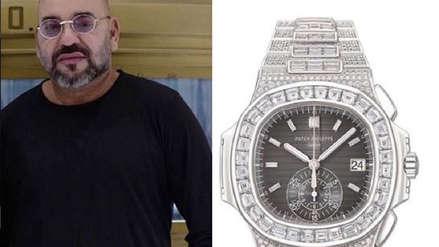 El lujoso reloj de diamantes del rey de Marruecos causa controversia