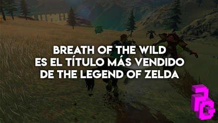 """""""The Legend of Zelda: Breath of The Wild"""" ya es el título más exitoso de la franquicia"""