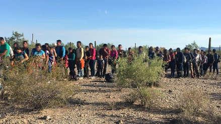 Estados Unidos detuvo a 163 inmigrantes indocumentados en frontera con Arizona