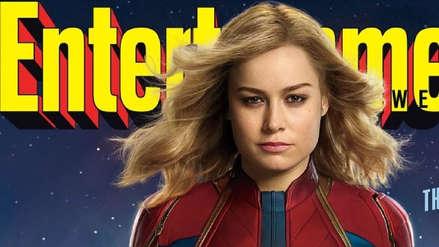 Capitán Marvel: Así luce Brie Larson en el traje de la nueva heroína del MCU